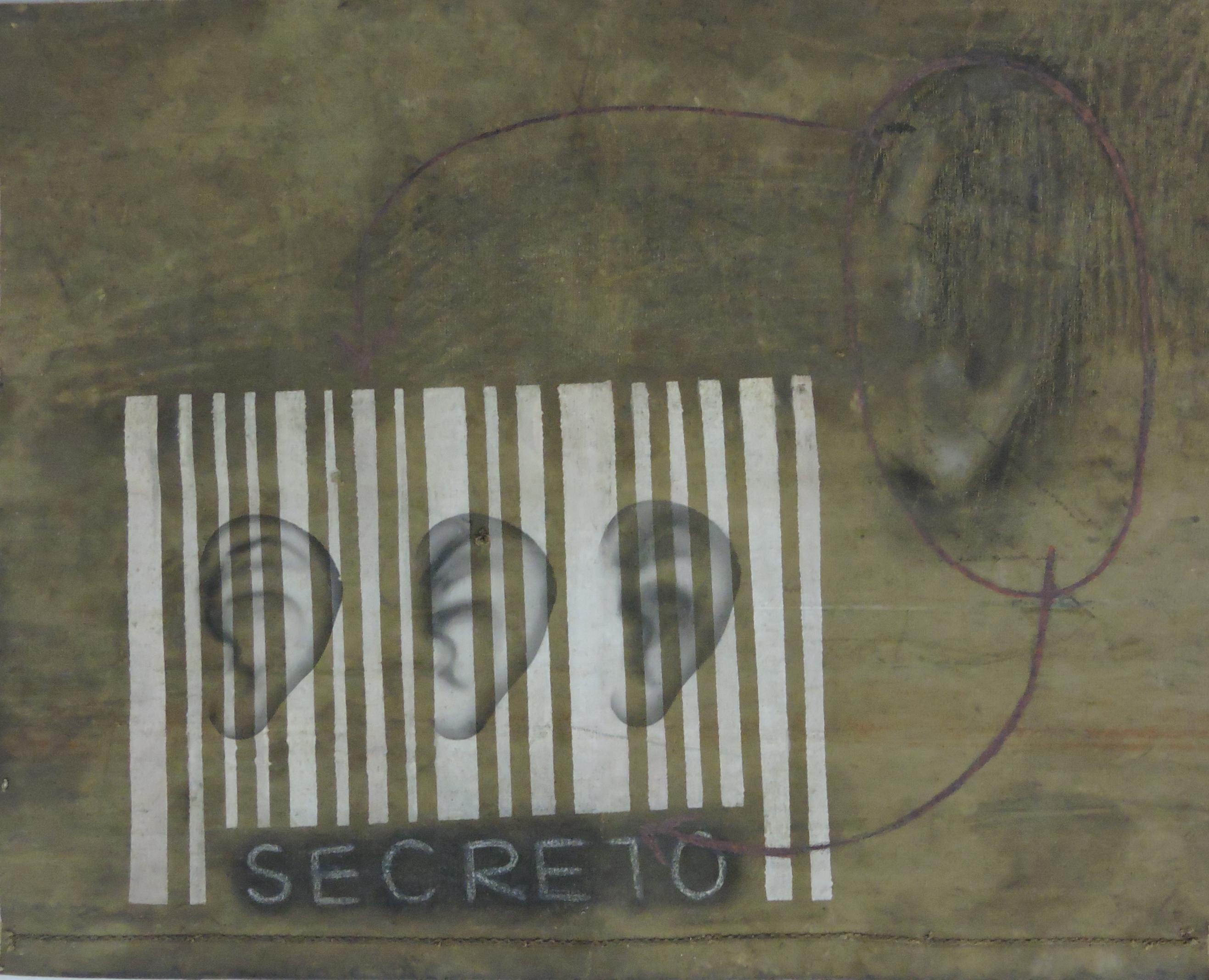 Genison_Oliveira_-_Exposição_Secreto,_Secreto,_2006._Mista_s_lona,_53.3_x_67.3