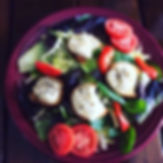 Roasted Goats cheese salad