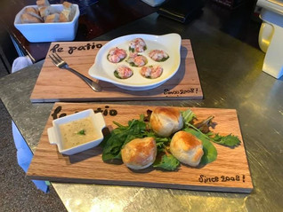 Garlicky Langoustines🦞 and Truffled Bab