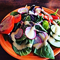 Veros garden salad