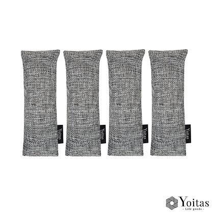 Yoitas 靴用竹炭4パック(2足分)