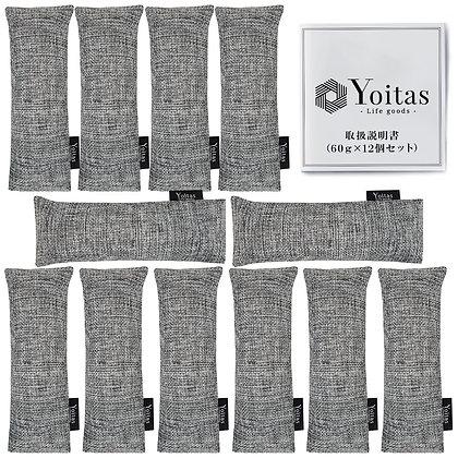 Yoitas 靴用竹炭パック 12個セット