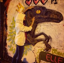 Dinoffiti