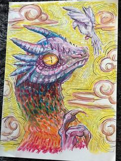 Dove and Dragon