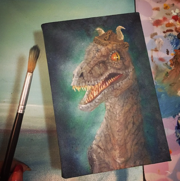 Just A Happy Dino