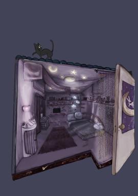 Night Room on Procreate