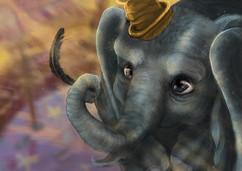 Dumbo on Procreate