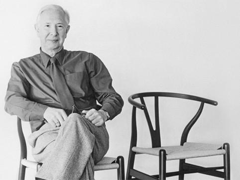 """"""" ผู้ออกแบบเก้าอี้ CH24 wishbone Y chair """" Hans J. Wegner"""
