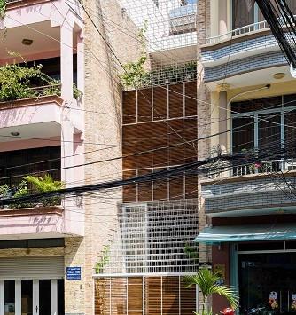 งานปรับปรุงตึกแถวที่น่าสนใจในเวียดนาม