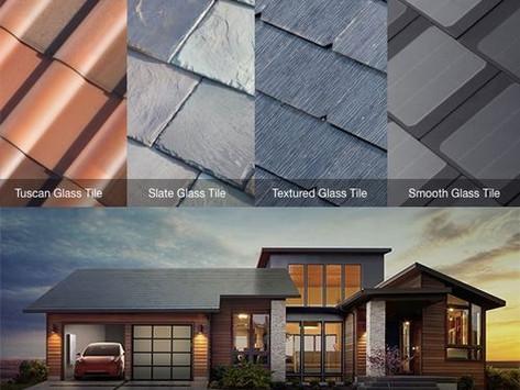 แผ่นหลังคาผลิตพลังงานไฟฟ้า Tesla Solar Roof