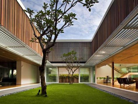 แบบบ้านสวย : Enclosed Open House