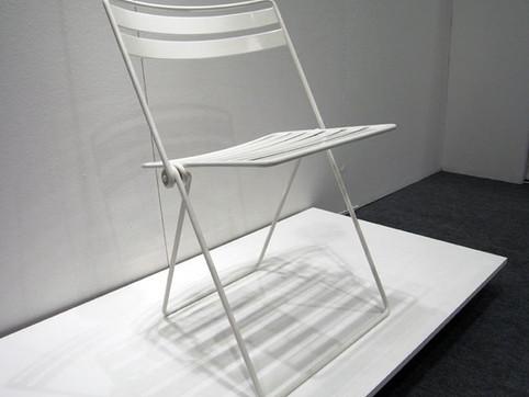 เก้าอี้พับจากเส้นลวด