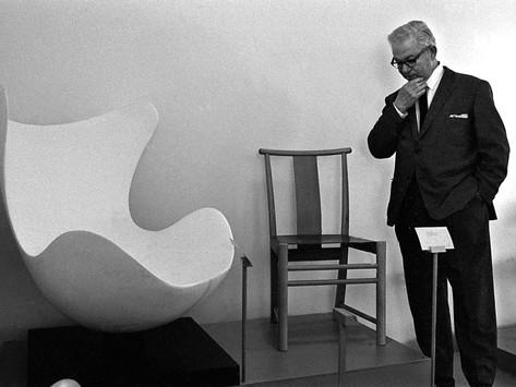 """""""ผู้ออกแบบเก้าอี้ Ant, Egg, Swan"""" Arne Jacobsen"""