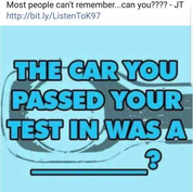 """""""Driving Test"""""""