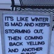 Winter..ENOUGH!