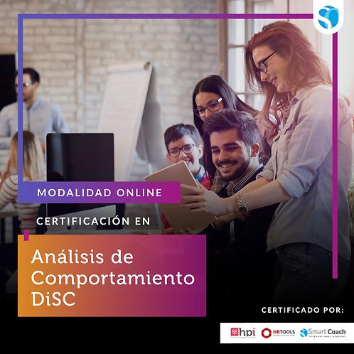 Certificación en Análisis de Comportamiento DiSC