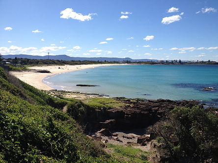 shellharbour north beach looking north I