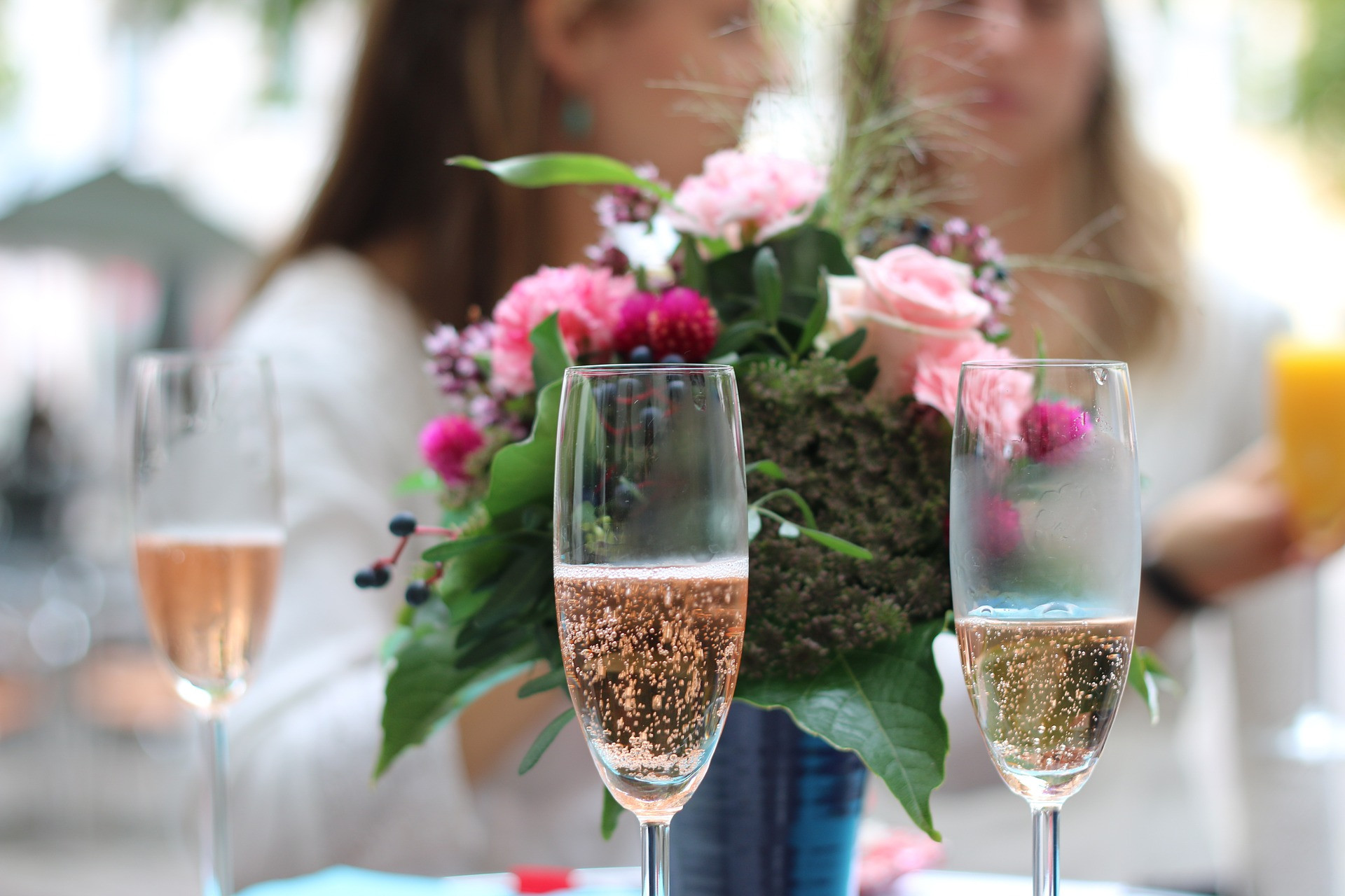 Champagne Welcome Cart