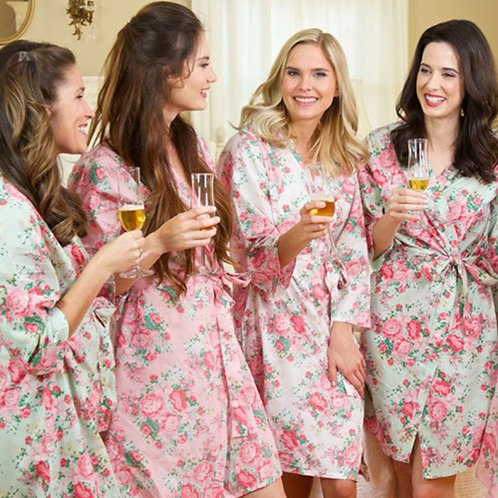 Cotton Floral Robes