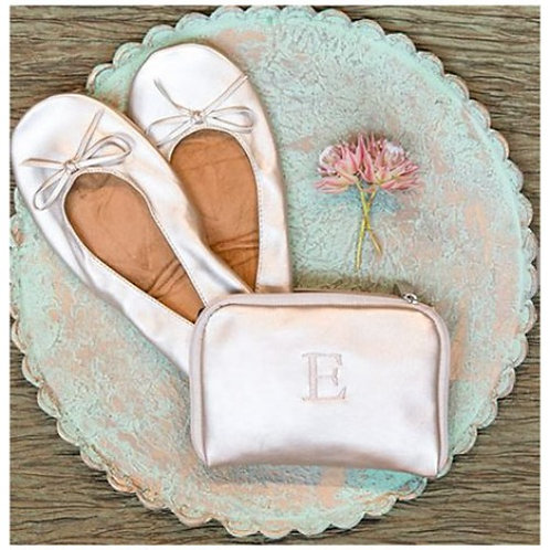 Pocket Flats with Personalized Carrying Case