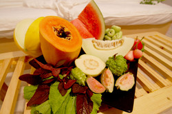 Free Fruits on Arrival