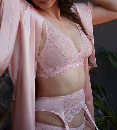 Love Rose | Here Comes Trouble Suspender Belt | Lotus Pink
