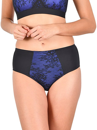 Shop the Naturana Brief in Navy & Purple | The Bra Sisters