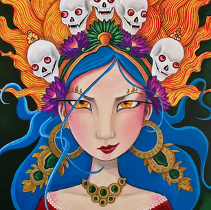 Warrior Goddess (Portrait Study)