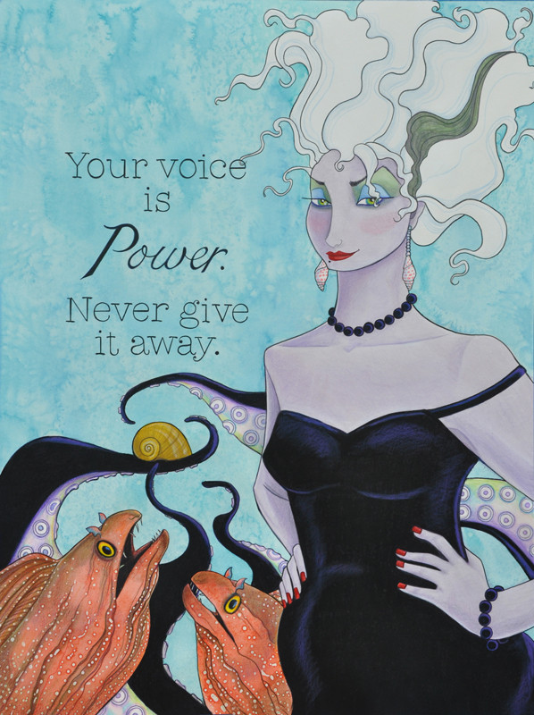 Your Voice Is Power.  Never Give It Away.