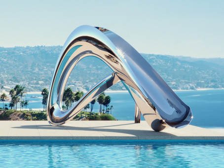 The Coolest Swimming Pool Slide You've Ever Seen