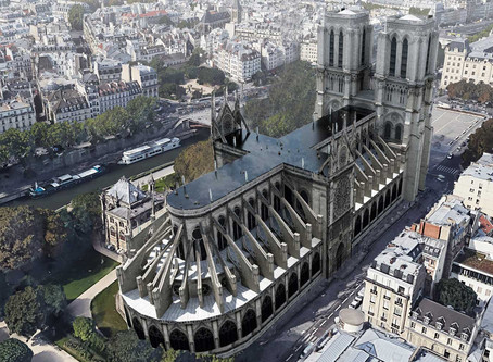 A Design Firm Proposed A Rooftop Pool For The Notre Dame Cathedral