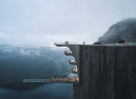 Architectural Firm Proposes A Swimming Pool Nearly 2000' High