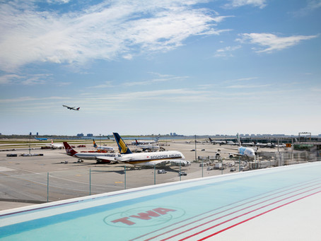 Layover In Style At JFK Intl. Airport Rooftop Pool