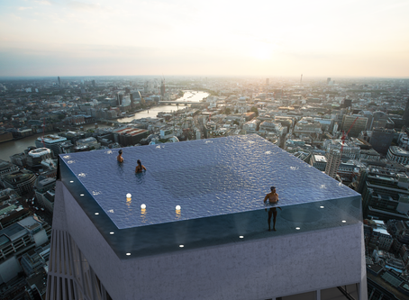 The Worlds First 360-Degree Rooftop Infinity Pool