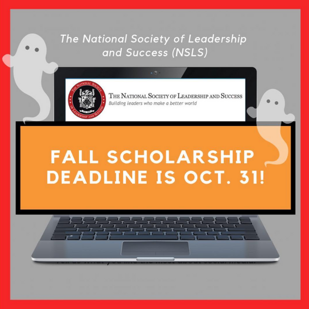 Fall Scholarship Post