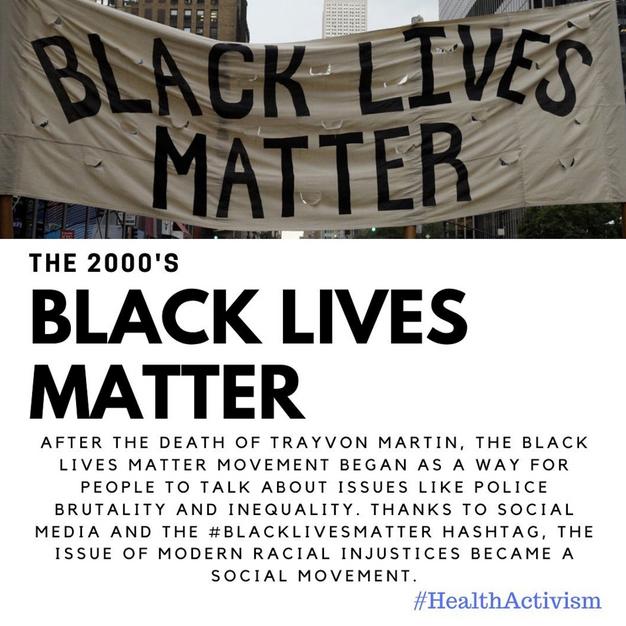 Black Lives Matter Post