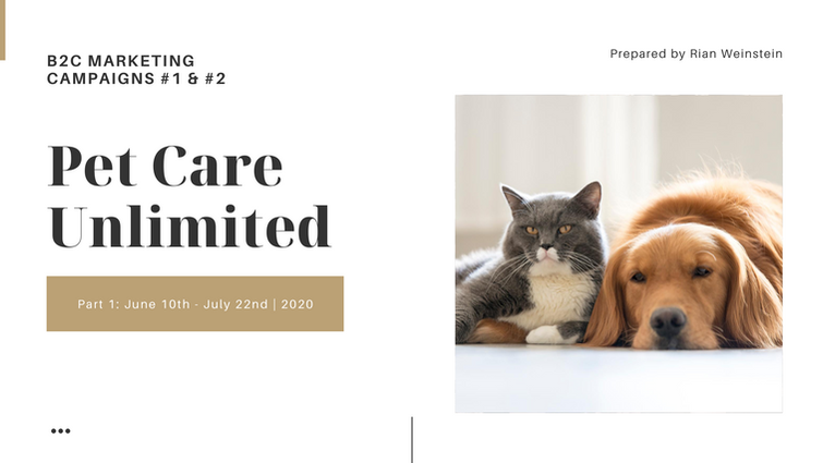 Pet Care Unlimited Campaign Results