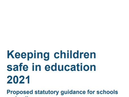 Consultation for KCSIE 2021