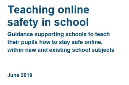 TEACHING ONLINE SAFETY IN SCHOOL