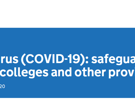 Safeguarding during Covid-19: summary and actions for schools.