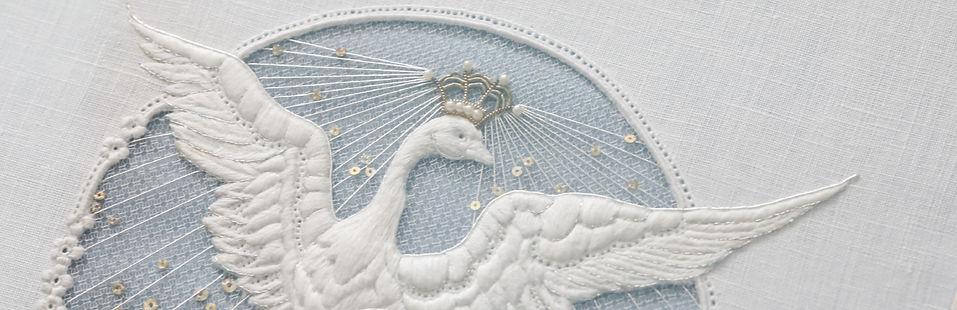 英国刺繍 ホワイトワーク