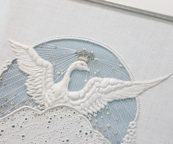 White work Swan