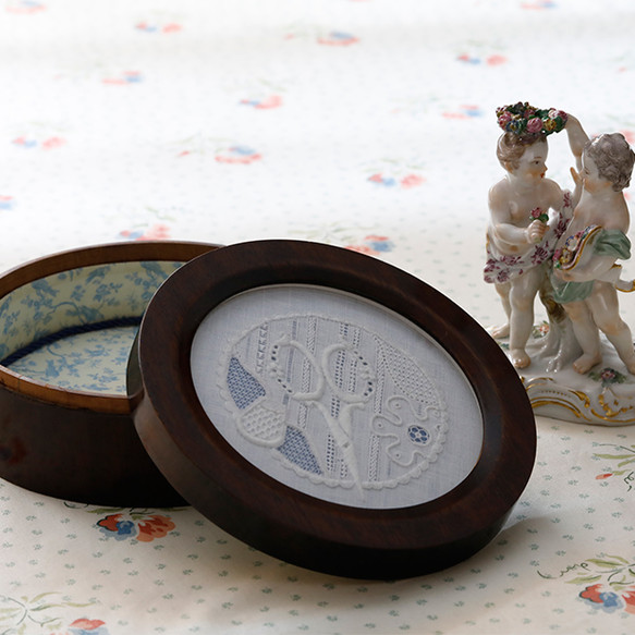 White work Embroiderer's box