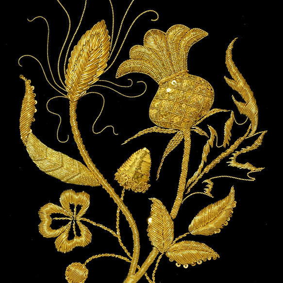 Gold work Coronation