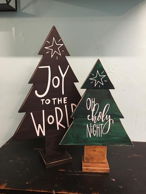 Christmas Tree Pair