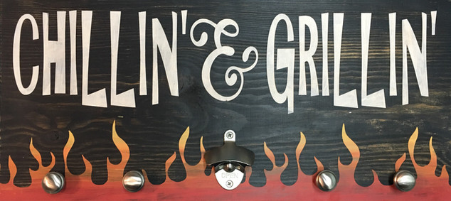 Chillin' & Grillin' Opener/Rack