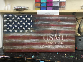 Flag - Armed Forces Personalized