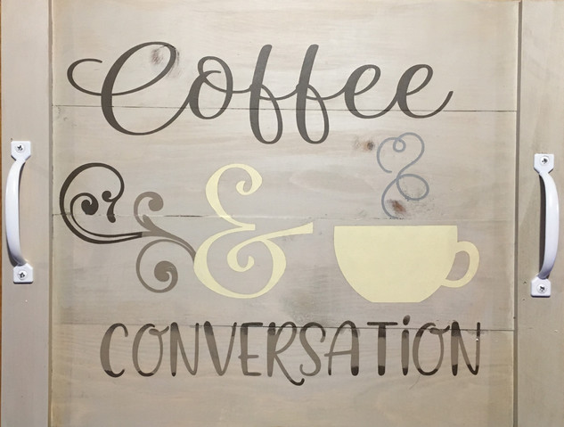 Coffee & Conversation Tray