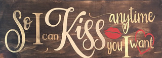 So I Can Kiss You