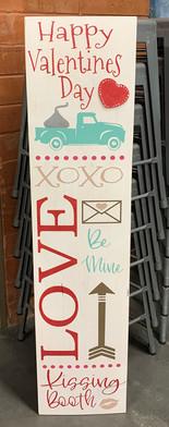 Valentine's Porch